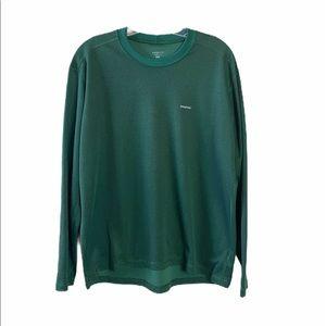 Patagonia Green Capilene Long Sleeve Shirt